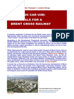 Brent Cross Railway