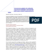 Combinación de Un Proceso Químico de Oxidación Húmeda Con Un Proceso Biológico Convencional Como