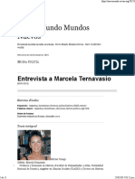 Entrevista a Marcela Ternavasio