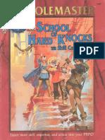 Rolemaster - School of Hard Knocks - The Skill Companion (English)