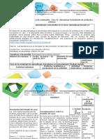 Guía de Actividades y rúbrica de evaluación – fase IV- determinar Formulación de productos cárnicos