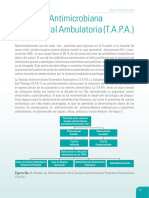 Terapia Antimicrobiana Parenteral Ambulatoria