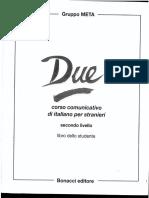 Due Esercizi - Corso Di Italiano Per Stranieri II Livello