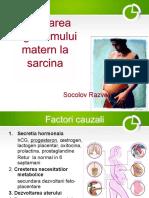 Adaptarea Organismului Matern La Sarcina