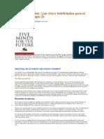 Howard Gardner Cinco Habilidades Para El Siglo Xxi