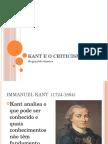 Kant e o Criticismo