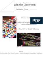 coding in the classroom  currirulum guide 2