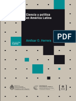 Ciencia y Politica Amilcar Herrera