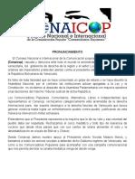 Apoyo Al Gobierno Bolivariano - Conaicop