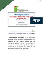 Aula 2 - Manifestacoes Patologicas Em Edificações