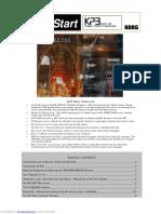 Korg Kaoss Pad Kp3 Easy Start Manual