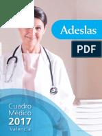 Cuadro Médico Adeslas Valencia - CuadrosMedicos.com