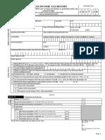 Income Tax Saral Form Pdf