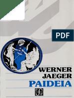 Paideia Jaeger Werner