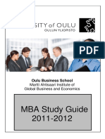 Mba Study Guide 2011 - 2012 Rev20110610