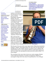 University of Southampton - Jazz Techniques - Improvising & Arranging(2).pdf
