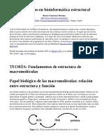 Algoritmos en Bioinformática Estructural