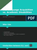 ellison c ct745 ell language acquisition vs  academic disabilities