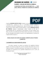 Acordo de Guarda Compartilhada - Rosiane Santos Souza
