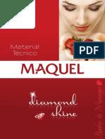 Material t Cnico Banho de Morango Diamond Shine Maquel