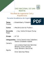 EJERCICIOS FLUIDOS I
