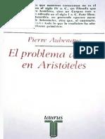 Aubenque, Pierre · El Problema Del Ser en Aristóteles