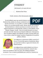 Pueblo, territorio y libre determinación indígena