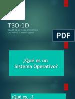 TSO-1D
