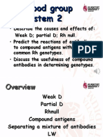 7. Rh Blood Group System 2R