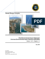 Hawaii Range Complex Final EIS/OEIS Volume 1 of 5