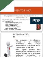 Cementos Inka - Upsjb