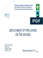 350_Deployment of Pipe Laying on the Sea Bed-2011-Shorter V