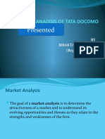 Market Analysis of Tata Docomo Ppt