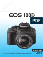 Canon EOS 100D Manual Portugues