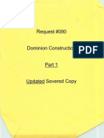 Dominion Construction Part 1