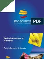PPM Camarón en Alemania Parte I Información de Mercado 2016