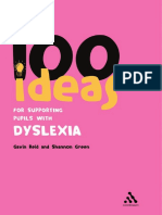 100 Ideas for Supporting Dyslexia