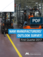 Q1 2017 Manufacturing Outlook Survey