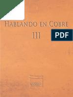 Hablando en Cobre III Baja