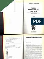 COLOMBRES Adolfo - Teoría Transcultural Del Arte