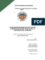CÁRDENAS 2016 - Films Biodegradables Activos de Almidón-gelatina