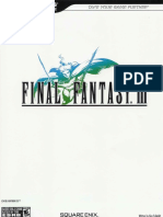 Final Fantasy III - NDS (Bradygames Strategy Guide)