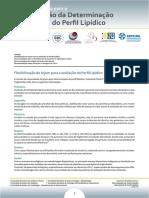 Consenso Brasileiro Para a Normatização Da Determinação Laboratorial Do Perfil Lipídico - Dezembro de 2016