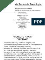 Proyecto Haarp Diapositivas