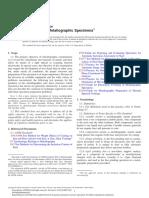 ASTM - E3.24523 - Preparacao de Amostras Metalograficas