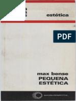 Max Bense Pequeña Estetica.pdf