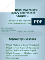 Educational Psychology -Theory and Practice -All Chapters 01