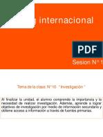 Sesion N°10 Marketing Internacional