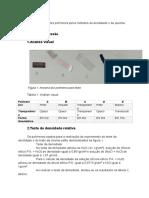 Relatório 1 Polímeros