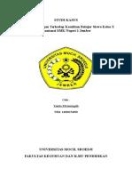 Contoh Laporan Studi Kasus Siswa SMK